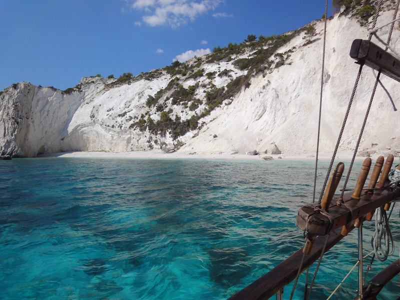 Kefalonia Day Cruise Kefalonia Daily Cruises Queen Bee